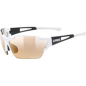 UVEX Sportstyle 803 Race Colorvision Variomatic Occhiali, bianco/nero